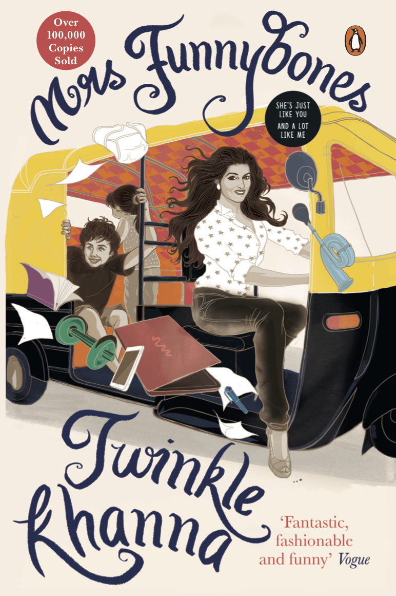 Mrs Funnybones By Twinkle Khanna Awarded The Popular Choice Award In