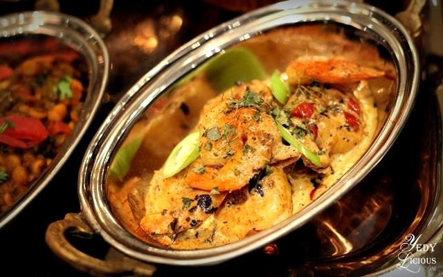 Jhinga Malai Curry Indian Buffet at Hyatt Manila