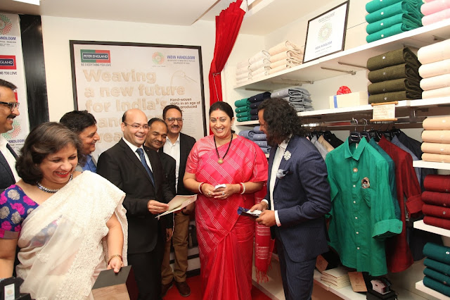 Aditya Birla Fashion and Retail Ltd.'s `Peter England' partners with `India Handloom Brand', an initiative of Ministry of Textiles, Government Of India