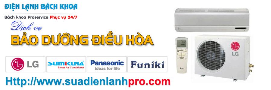 Dịch vụ Bảo dưỡng điều hòa tại nhà Hà Nội