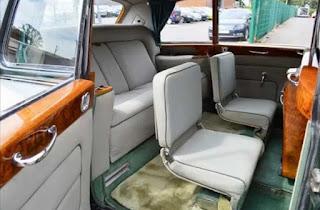 Rolls Royce Phantom VI Limousine Rear Interior