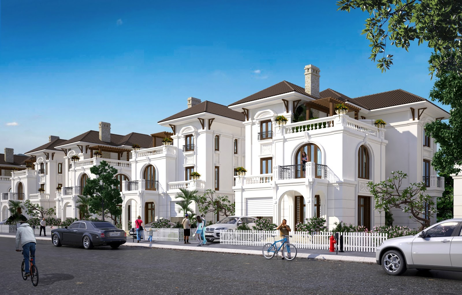 Lợi thế về vị trí của dự án Biệt thự và Shophouse Embassy Garden Tây Hồ Tây