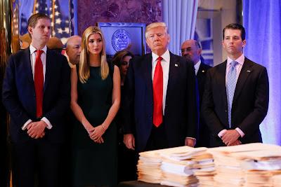 Eric Trump, Ivanka Trump, Donald Trump Jr., Donald Trump, Buzzfeed, Oroszország, Vlagyimir Putyin, Hillary Clinton, ObamaCare