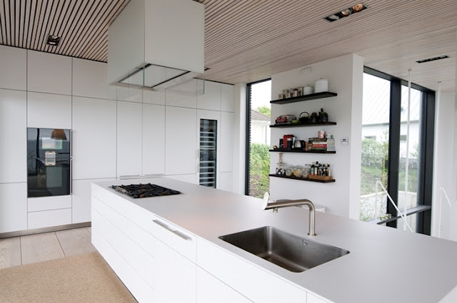 Dapur Rumah di Tepi Pantai