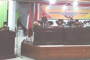 DPRD Gelar Rapat Paripurna Pengesahan Ranperda LPJ APBD TA 2016