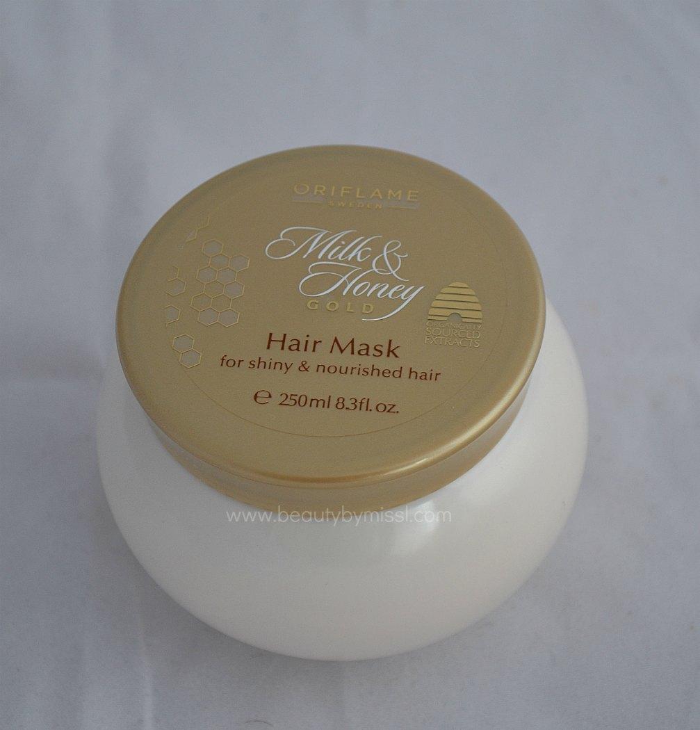 Oriflame Milk & Honey hair mask
