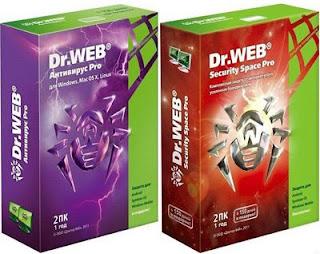Dr.Web Anti virus e Security Space Pro 6.0.5.04110