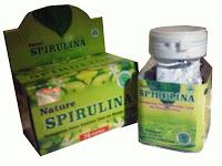 Jual Nature Spirulina 70 Kapsul di surabaya herbal untuk Kolesterol