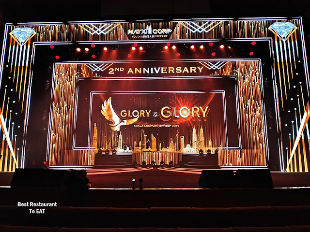 Matxi Corp 2nd Anniversary Glory To Glory Stage Setting