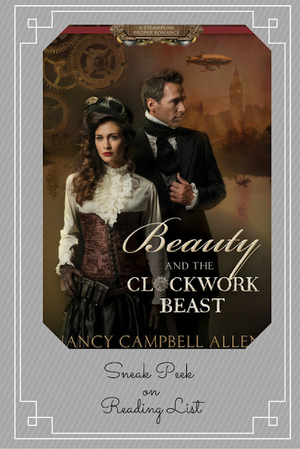 A Sneak Peek on Reading List   Beauty and the Clockwork Beast