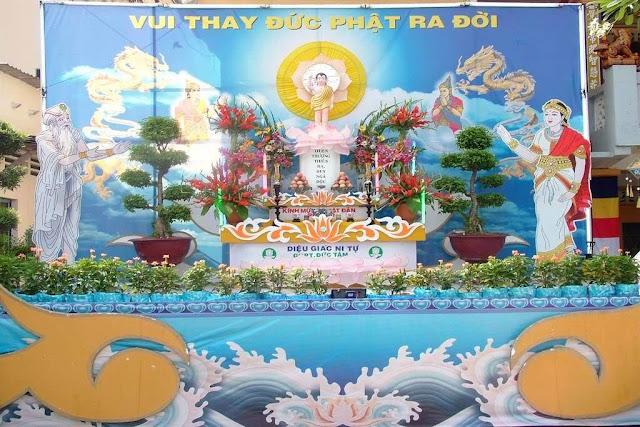in ấn  PP, Decal, pano Băng Rôn Phật Đản vesak 2018 pl 2562 Giá Rẻ