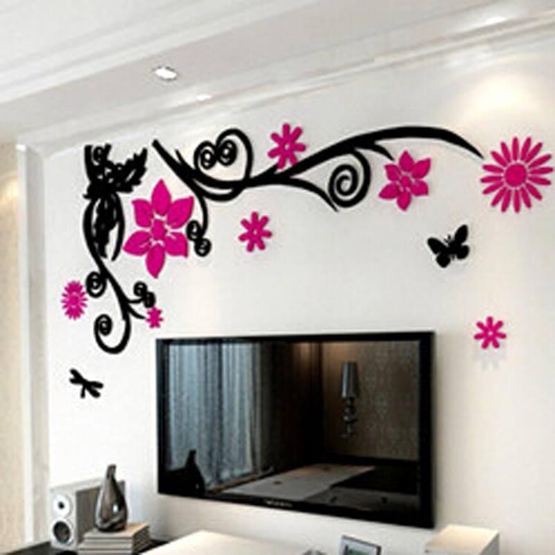 3d Wallpaper Stickers Home Decor