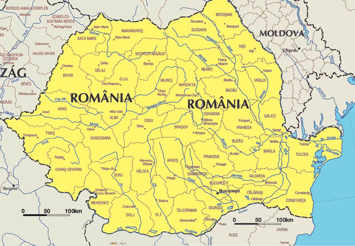 rumänien landkarte Landkarte Bulgarien Rumänien rumänien landkarte