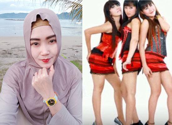 Inilah Foto-foto Hot Bu Dendy 'Ovie' Saat Jadi Biduan Dangdut