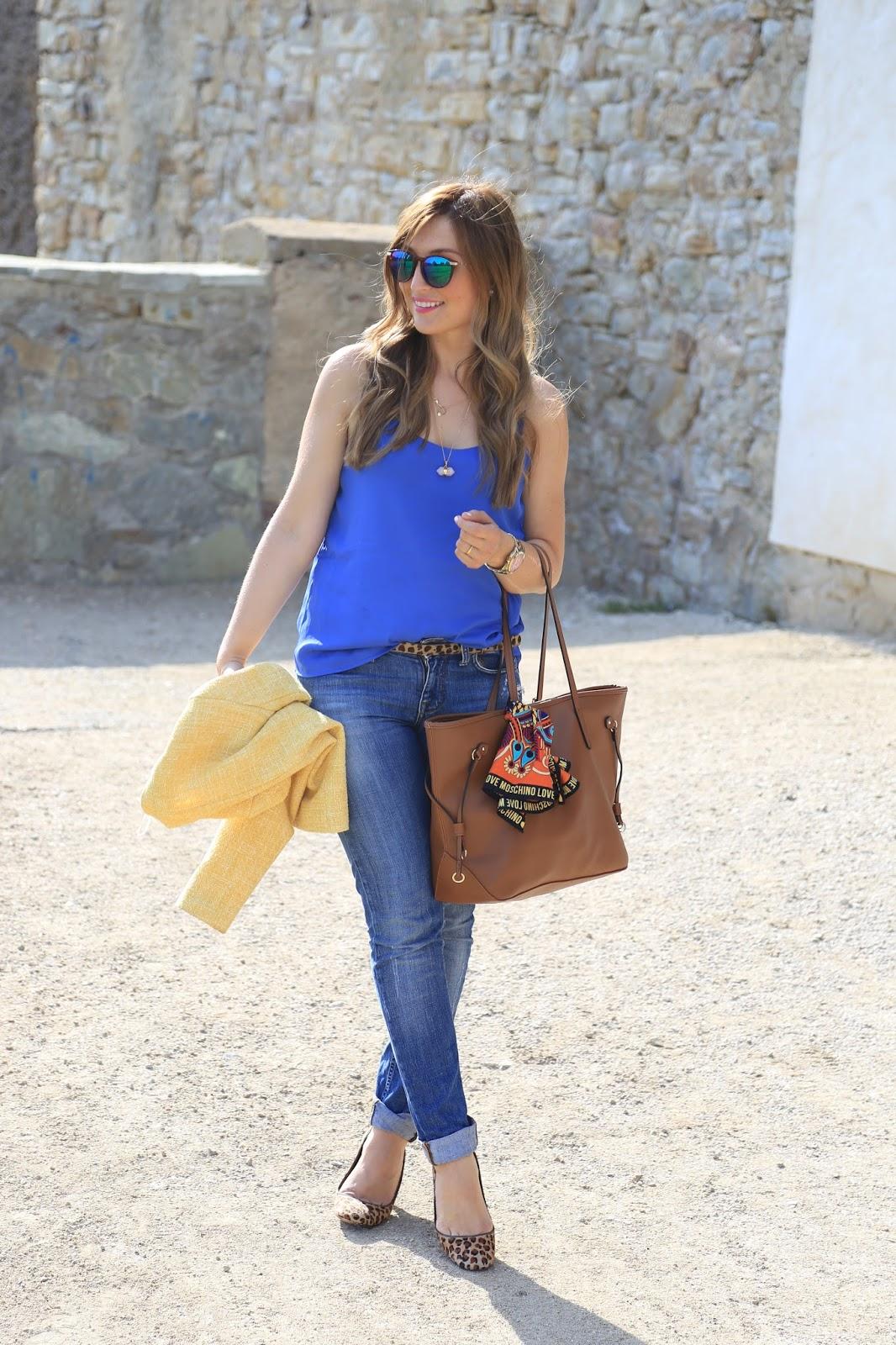 Fashionstylebyjohanna - Blogger aus Frankfurt - Leoparden Grürtel kombinieren - Leoparden High Heels - Casual Chic Blogger Look