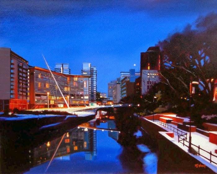 Городские пейзажи. Michael John Ashcroft