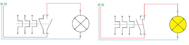 Memasang lampu indikator (LED) dalam sistem kontrol motor 3 fasa