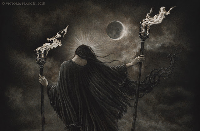The Sacred Flames of Hekate, Mandragoreae by Victoria Francés