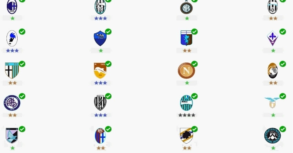 Logo Quiz Football Clubs Italy Level 5
