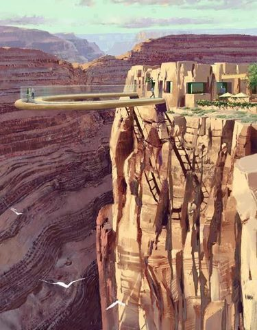 Glass Bottom Skywalk, Grand Canyon, Arizona