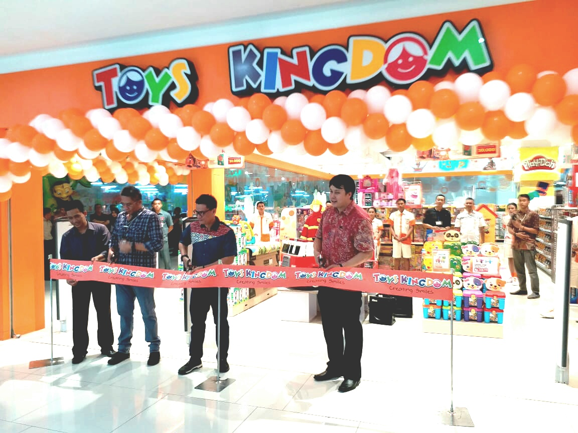 Toys Kingdom Resmikan Toko Ke 5 Di Bandung Electronic City