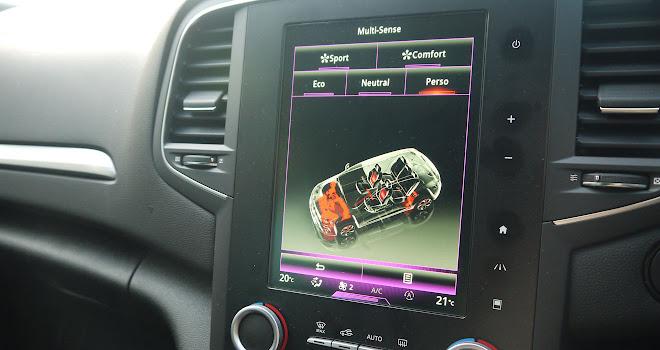 Renault Megane driving modes