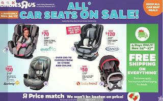 Babies R Us Flyer November 24 – 30, 2017