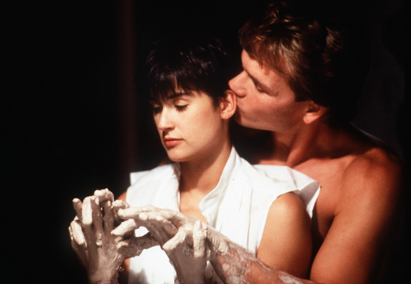 Celebrities, Movies and Games: Demi Moore - Ghost 1990