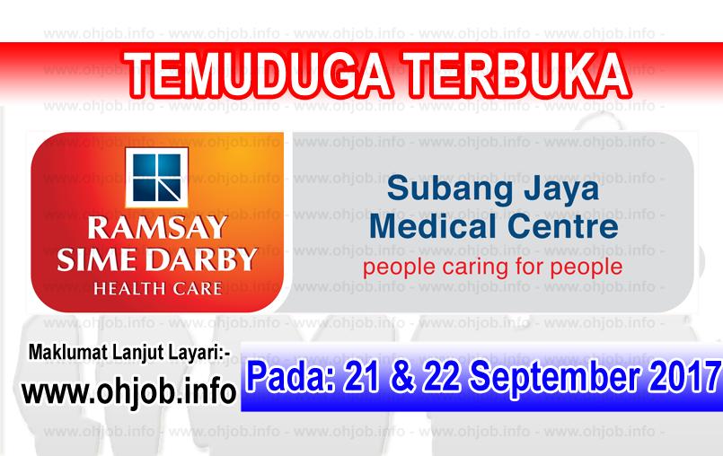 Jawatan Kerja Kosong Subang Jaya Medical Centre logo www.ohjob.info september 2017