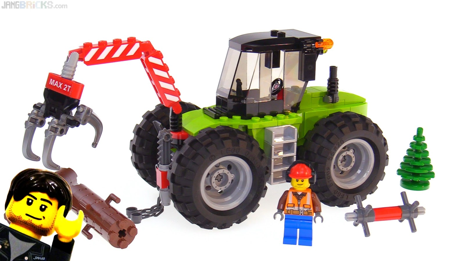 Lego City 2018 Forest Tractor 60181 Review