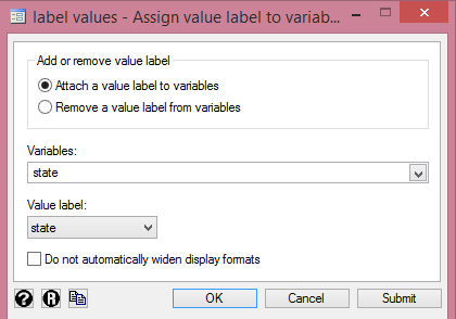 Assigning value labels for one-way ANOVA in Stata from http://cruncheconometrix.com.ng