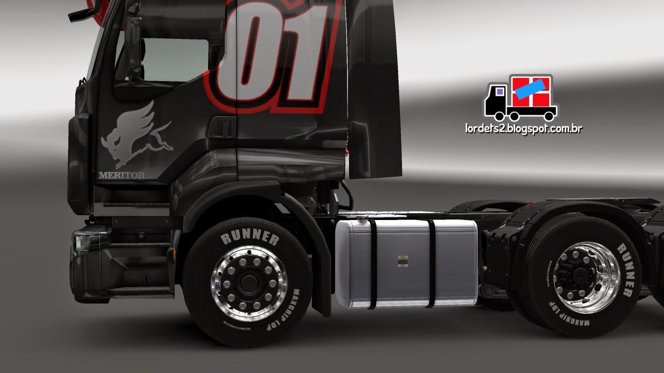 Euro Truck 2 S Os Qualificados Rodas Cromadas ETS2