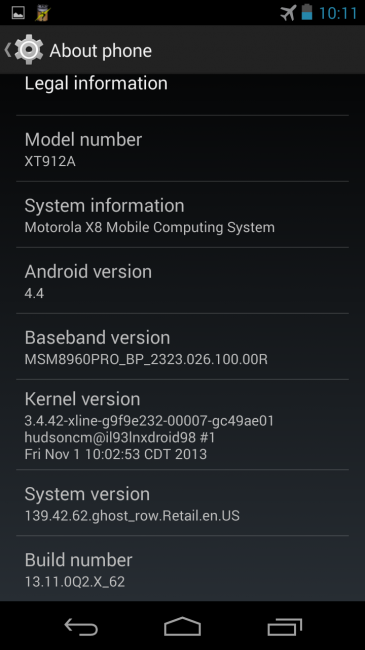 Motorola Moto X for T-Mobile receives leaked Android 4.4 update (2)
