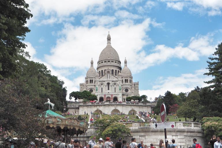 Basilique du Sacré-Coeur Montmartre à Paris