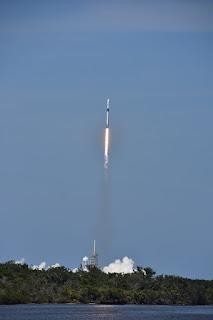 Rocket Launch At Florida