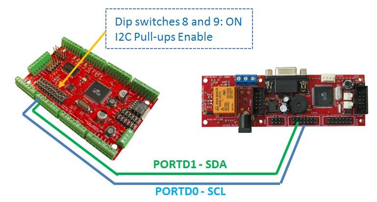 Sailboat Instruments: I2C Transfer between 2 microcontrollers