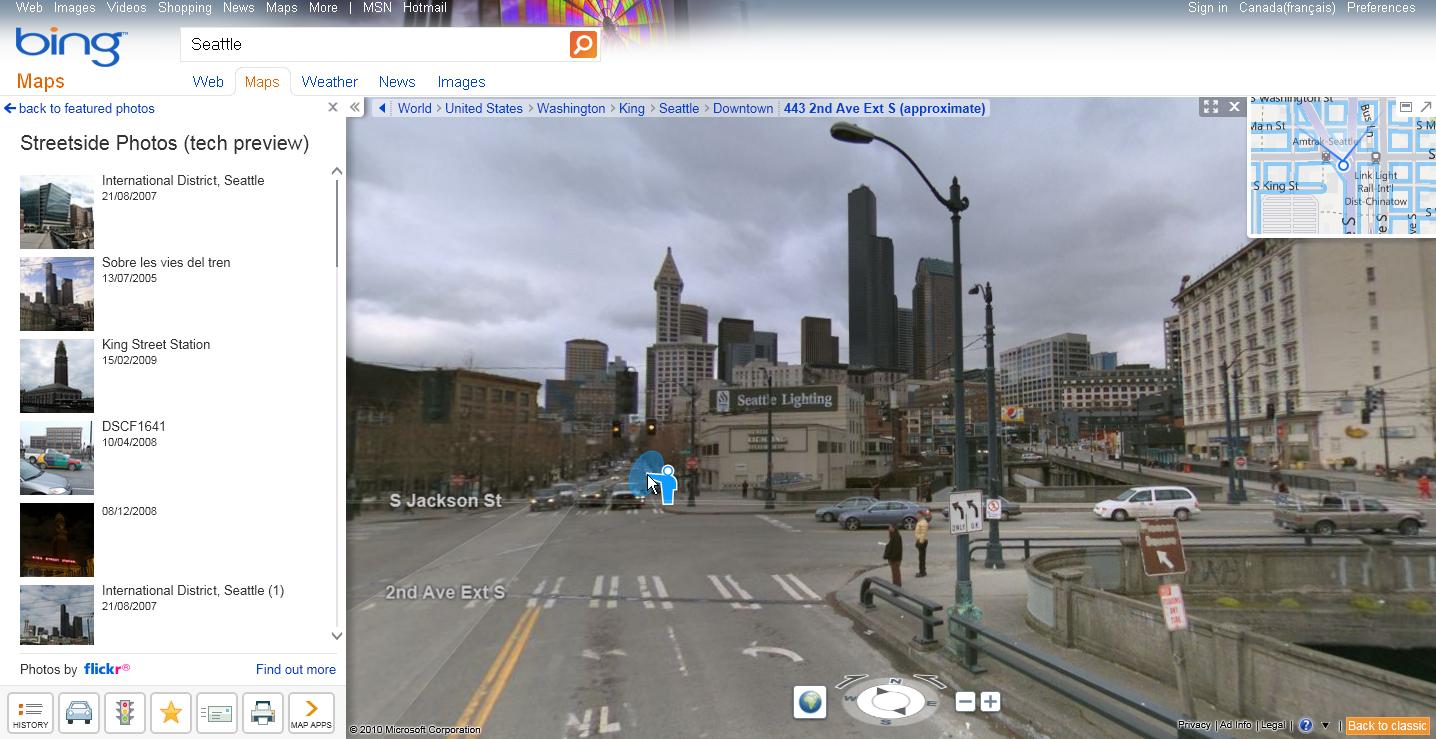 Bing Maps Watch