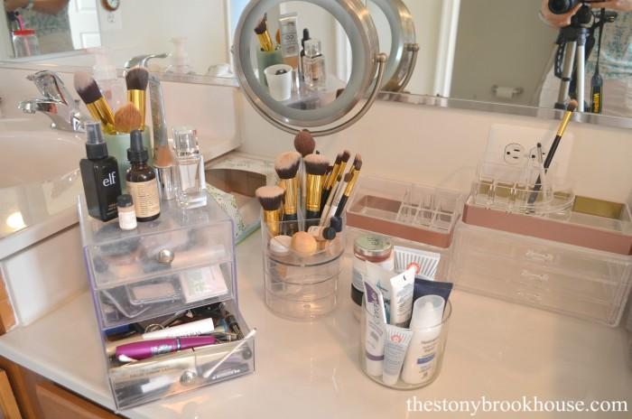 Purging old makeup
