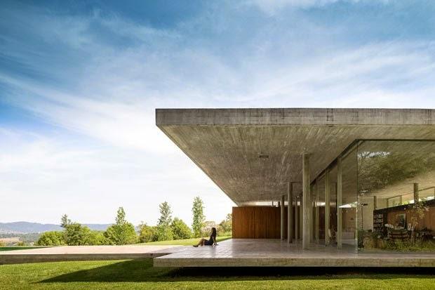 Noviembre 2014 arquitectura y dise o los mejores - Casas de cemento y madera ...