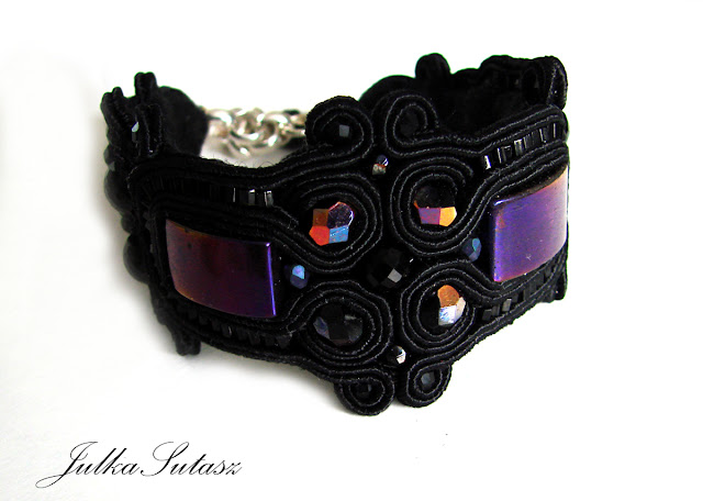 *Purple Rain* Bracelet