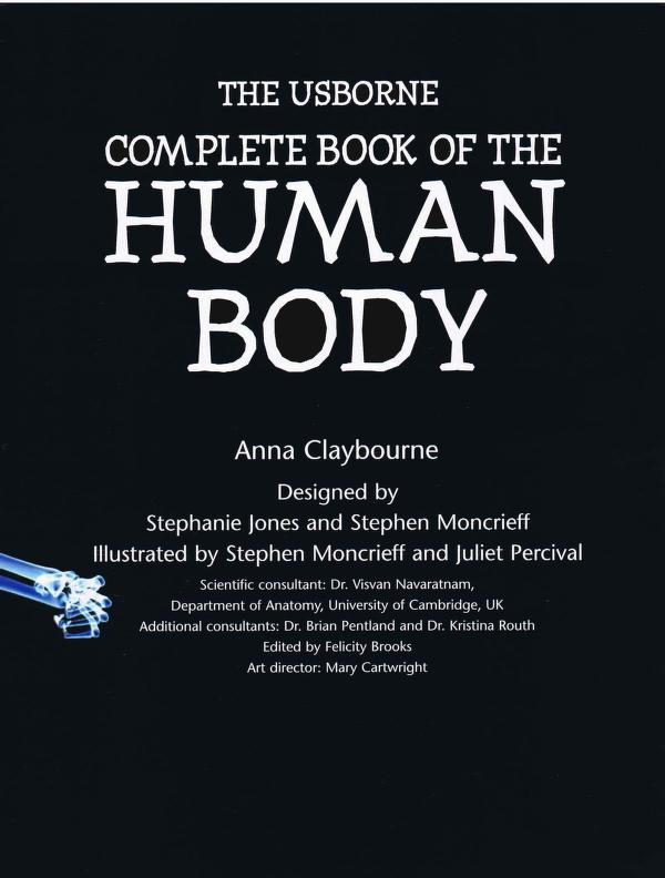 Complete Book Of The Human Body PDF Book