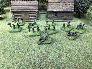15mm German infantry by Plastic Soldier Company