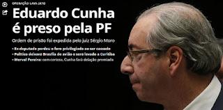 Eduardo Cunha é preso pela Lava Jato em Brasília