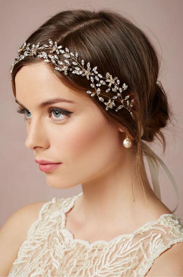 Increíbles peinados de novias | Estilo pelo corto