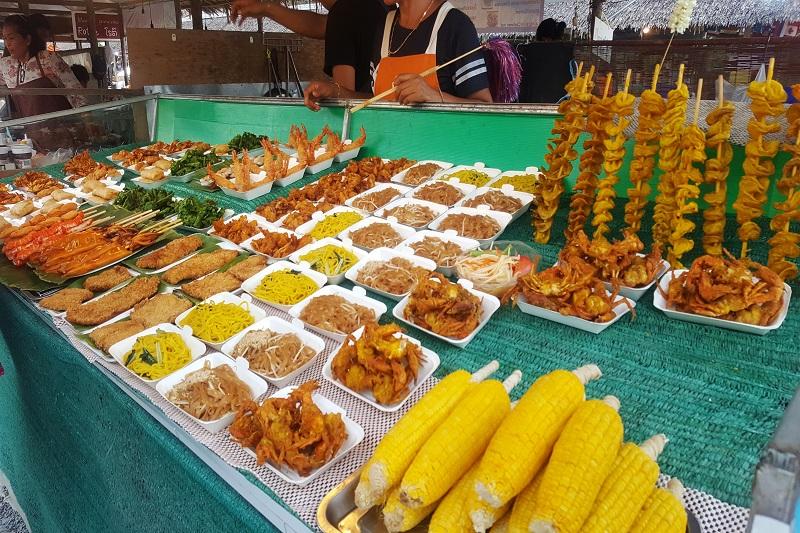 Bang Niang Food Market Thailand