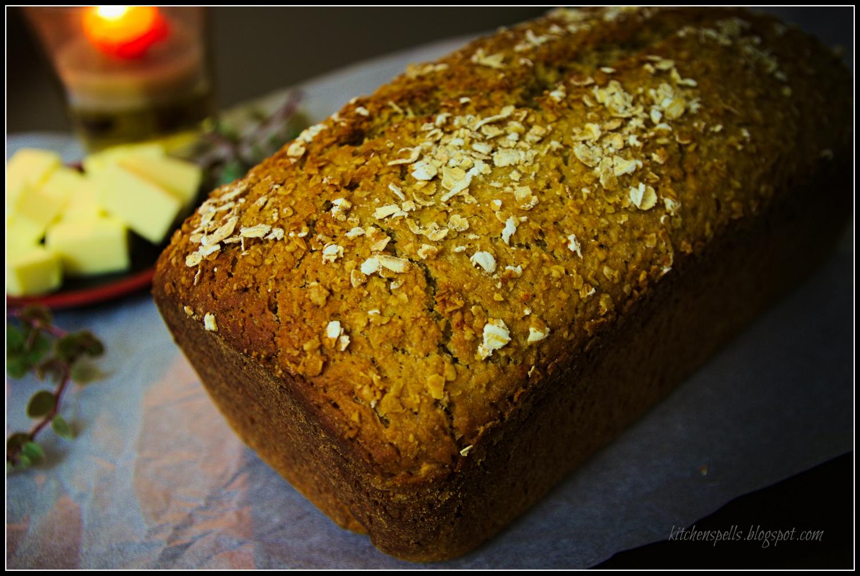 how to make honey oat bread