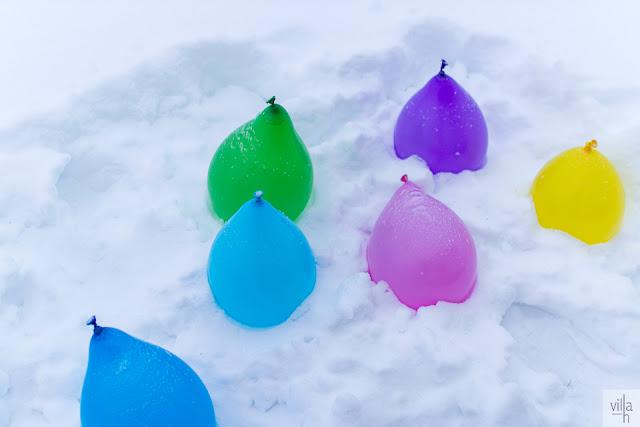jäälyhty, pyöreä jäälyhty, ilmapallolyhty
