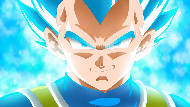 Papel de parede Super Saiyan Blue Vegeta Dragon Ball Super