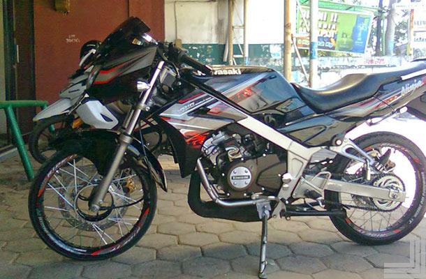 modifikasi motor ninja r 150 terbaru terpopuler
