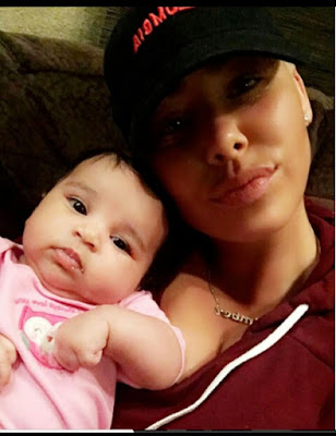 Image result for Amber Rose shares adorable photo with Dream Kardashian